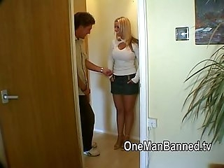 British blonde milf is pounded hard