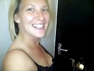 British Mega-bitch Films Herself Fucking Strangers At Gloryhole