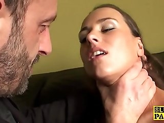 Squirting british bird luvs fingering session