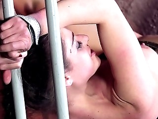 Master Dominates Cathy Heaven & Fucks Her Ass While Plowing Her Pink