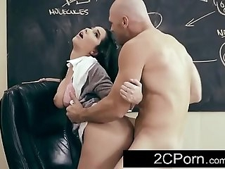 Big-chested Brunette Student Karlee Grey Wants Her Teacher