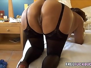 Fat Ass MILF In Lingerie Gets Fucked Met Her on Freefuckbuddy.net