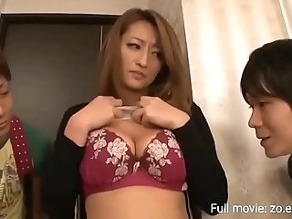 Milf step aunty with big ass tears up nephew he accidentally cums in her