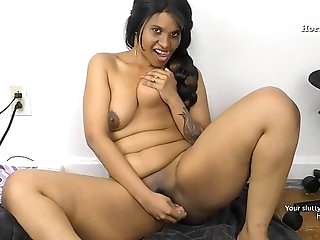 Scorching Indian Aunty peeing for virgin boy in Hindi