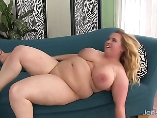 Thick Titted BBW Uses Her Assets to Please a Thick Cock