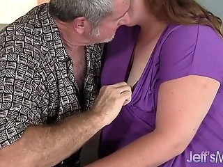 BBW Scarlet gets torn up good